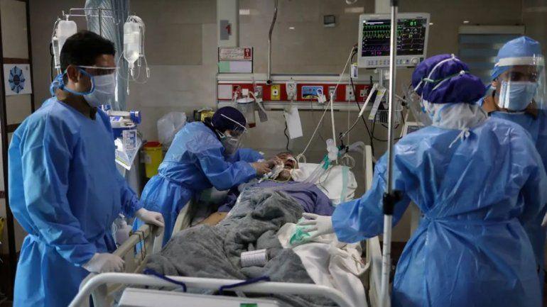 Foto ilustrativa: enfermo coronavirus
