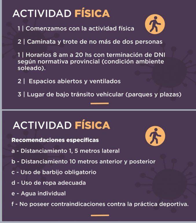 Cuarentena en Jujuy: autorizan la actividad física