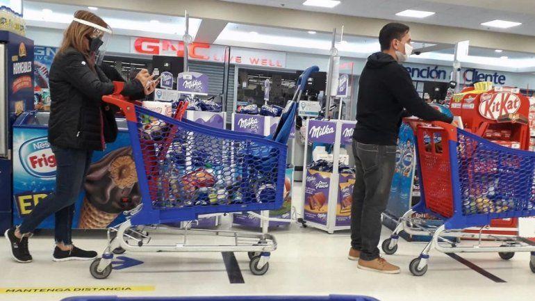 Coronavirus: En Tierra del Fuego tendrán 3 horas para ir al supermercado