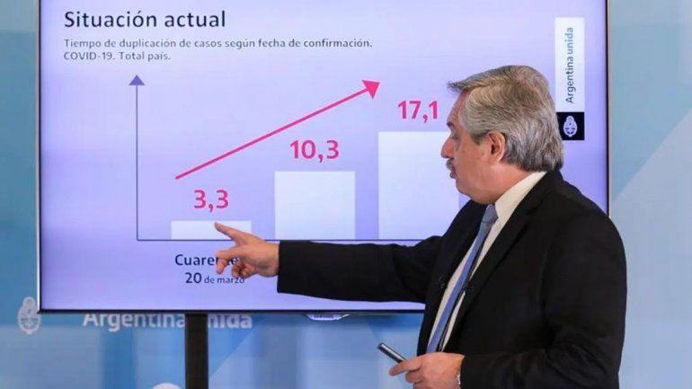 El embajador chile corrigió un error de Alberto Fernández