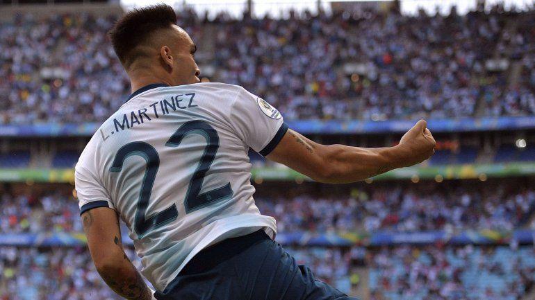 Lautaro Martínez tiene el OK del DT del Barcelona