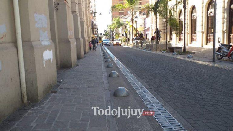 Modifican la circulación por el centro de la ciudad