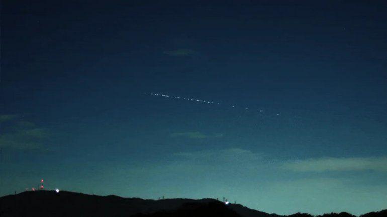 Qué fueron las luces que se vieron en el cielo y causaron sorpresa