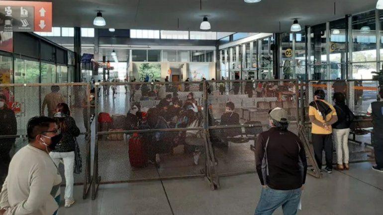 Se activó el protocolo por COVID -19 en la Terminal de Ómnibus de Jujuy
