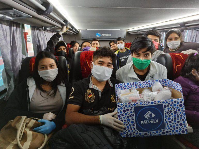 Estudiantes de Palpalá y Libertador ya hacen la cuarentena