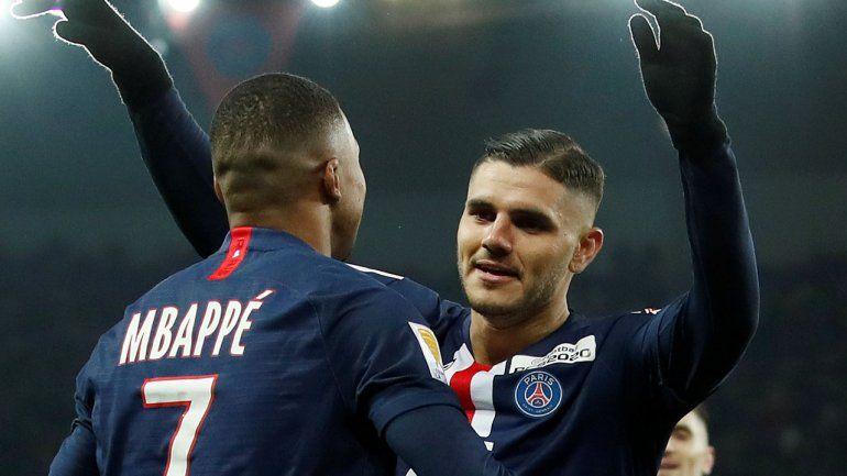 El París Saint Germain se quiere quedar con Mauro Icardi