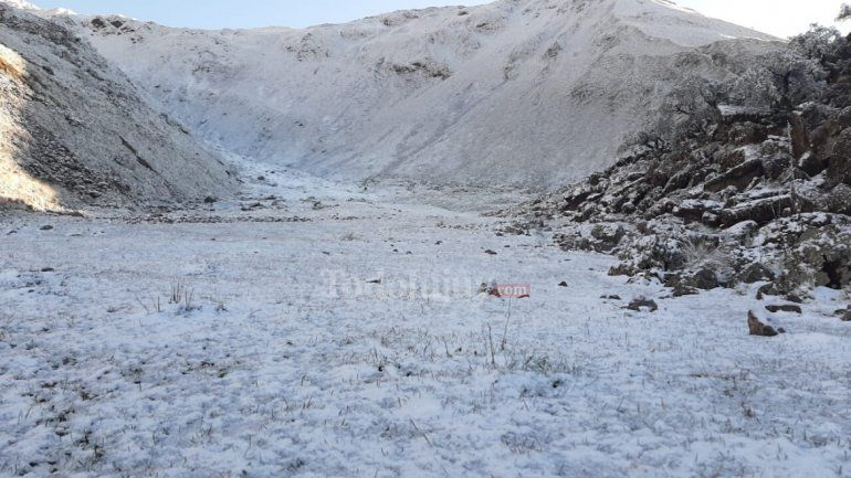 Nevó en Jujuy: las imágenes de la nieve en Yala
