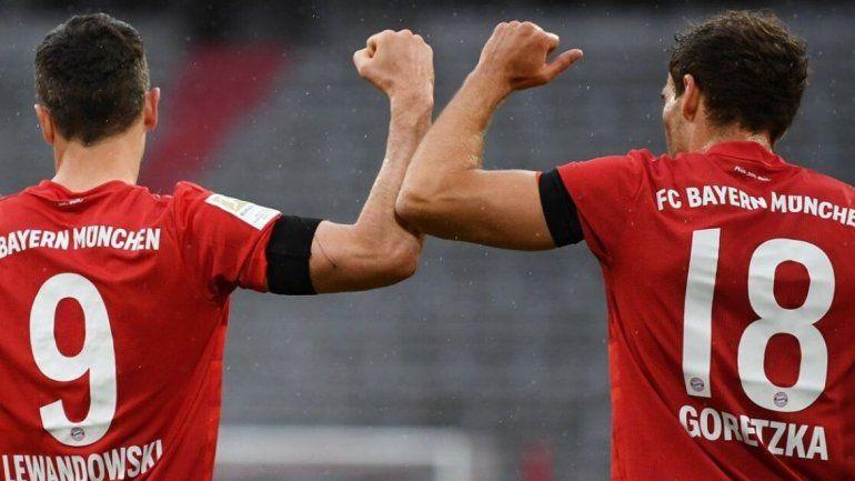 Bundesliga: Bayern Múnich goleó, gustó y está en la cima