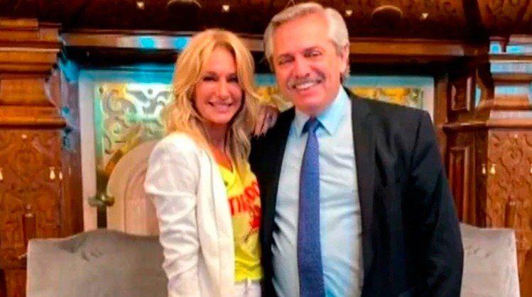 Yanina Latorre mostró un chat que mantuvo con Alberto Fernández: Si te paran, decís que venís de parte mía