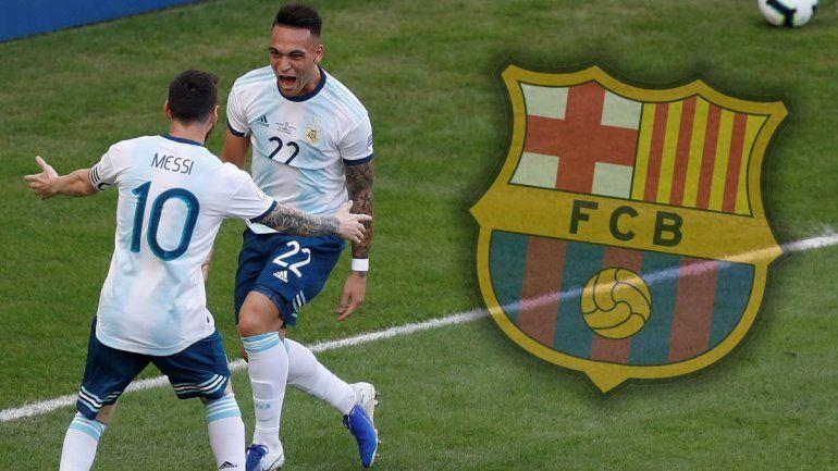 Acuerdo total entre el Barcelona y Lautaro Martínez