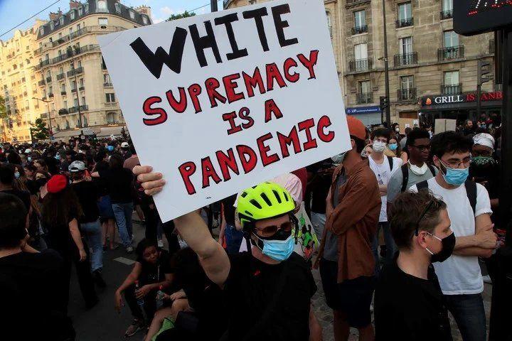 Manifestaciones en Paris por la muerte de Adama Traoré