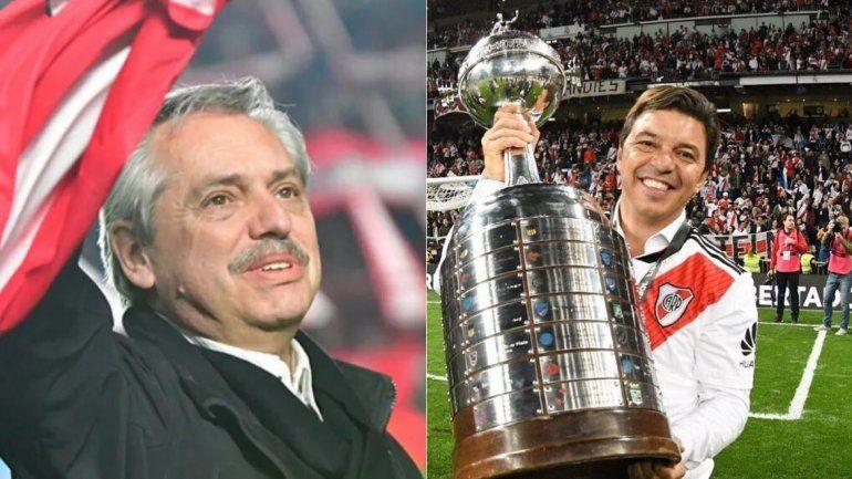 Alberto Fernández habló con Marcelo Gallardo