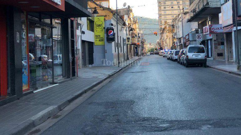 En San Salvador de Jujuy sólo pueden abrir comercios de Tipo 1
