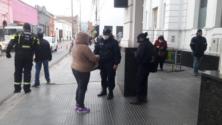 Jujuy: Los bancos volvieron a abrir sin aglomeraciones