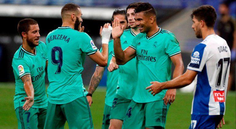 Real Madrid ganó y le arrebató la punta al Barcelona