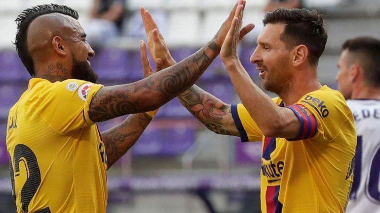 Messi: récord de asistencias y fiesta para el Barcelona