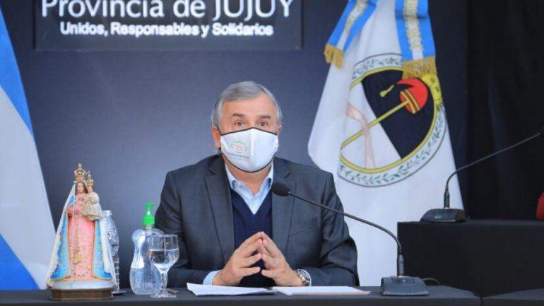 Jujuy: Gerardo Morales dio positivo para COVID-19 y está aislado