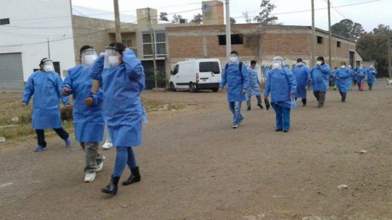 Coronavirus: Fortalecen operativos en zonas rojas de Jujuy