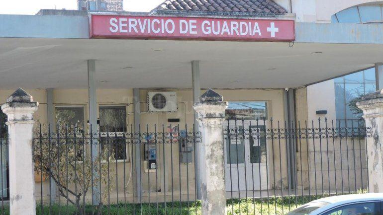 Camas en el Hospital San Roque