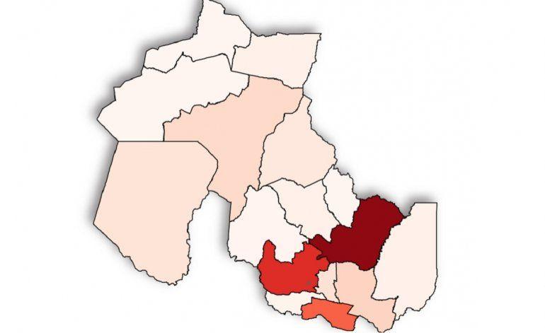 Coronavirus en Jujuy: cómo es el mapa de casos