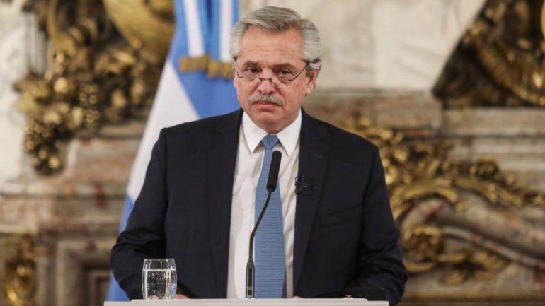 Alberto Fernández preocupado por el aumento de casos