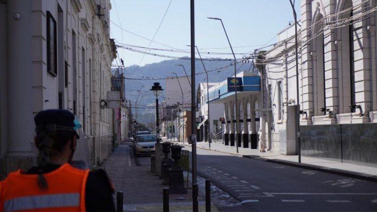 San Salvador de Jujuy vacío