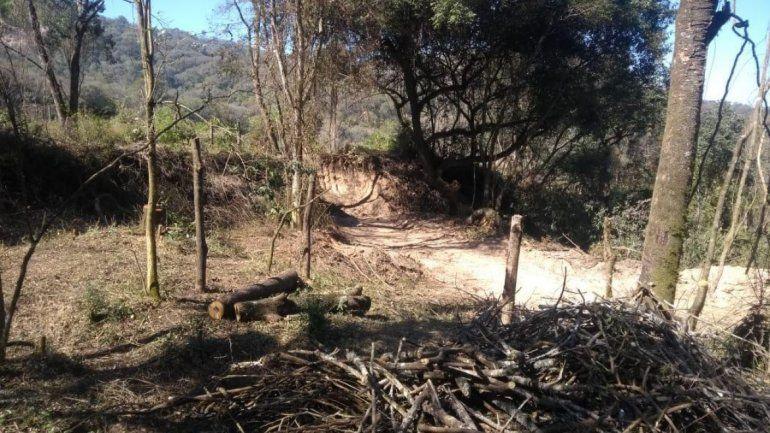 Campo Verde: deforestaron una zona para un asentamiento que lleva años y temen un desastre