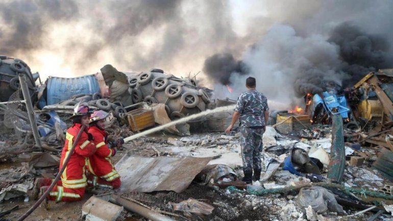 Explosión en Beirut: el nitrato de amonio fue la causa   Beirut ...