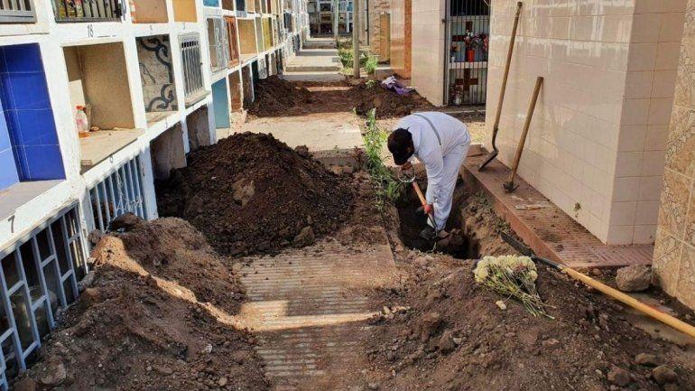 Perico: hubo 36 inhumaciones por COVID-19 y están saturados