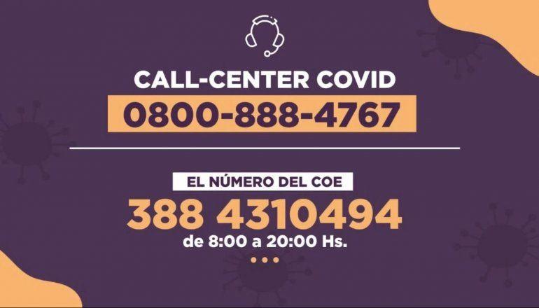 Más de 4 mil jujeños son atendidos por el Call Center y Telemedicina