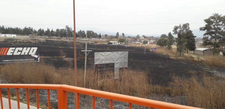 Palpalá: quemaron el predio de Los Perales Rugby Club
