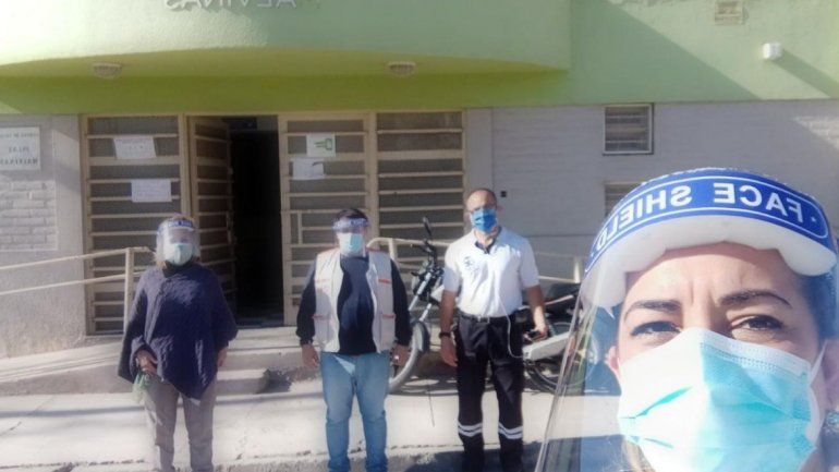 Detección de covid-19: Voluntarios de Nación en Jujuy