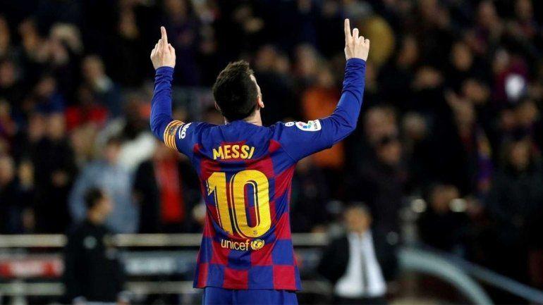 Messi superó la barrera de ganancias durante 2020