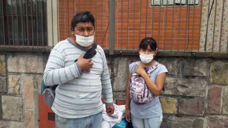 Alfonso y su esposa acuden a la solidaridad de los jujeños.