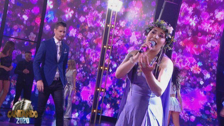 Cantando 2020: Rocío Quiroz y Rodrigo Tapari se lucieron en un homenaje a Gilda