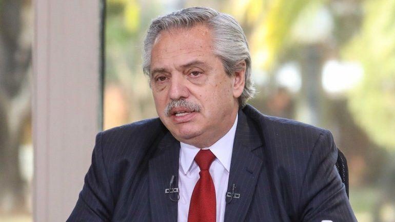 El segundo hisopado a Alberto Fernández dio negativo