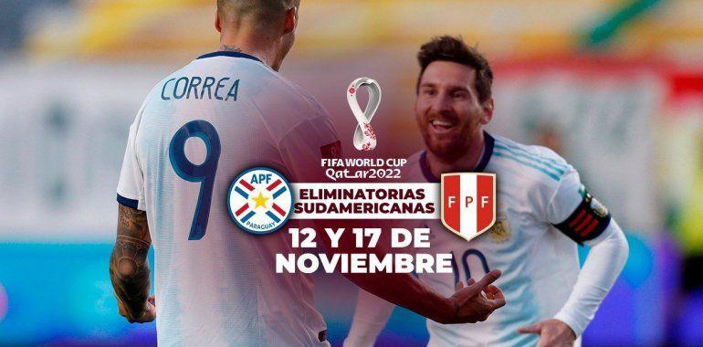 Los próximos partidos de la Selección Argentina