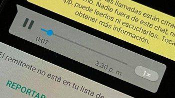 Whatsapp permitirá escuchar los audios antes de enviarlos.