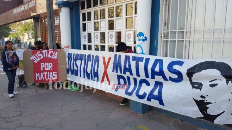 A tres años de la muerte de Matías Puca: falta Justicia