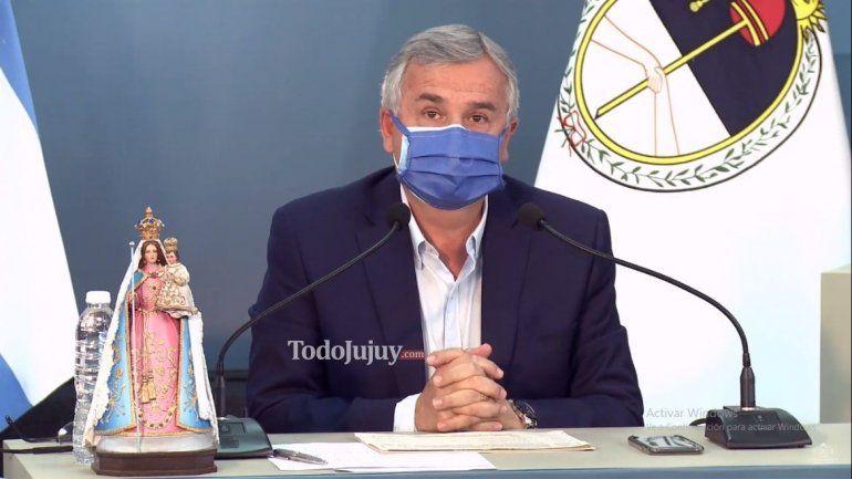 Gerardo Morales brindará una entrevista exclusiva a Canal 4 de Jujuy