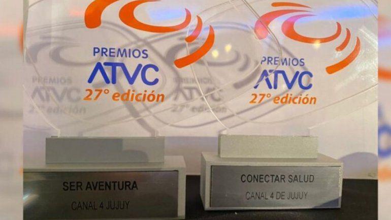Canal 4 ganó dos premios en los ATVC y desde la empresa reconocieron el trabajo en equipo