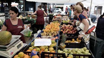 Los alimentos con mayor puntaje tuvieron fueron verduras y frutas, (entre 69 y 74).