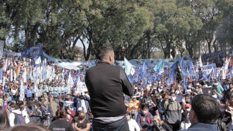 Organizaciones sociales suspendieron la marcha por pedido del presidente