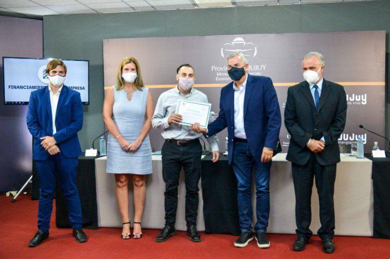 Jujuy: otorgaron 60 millones de pesos para emprendedores