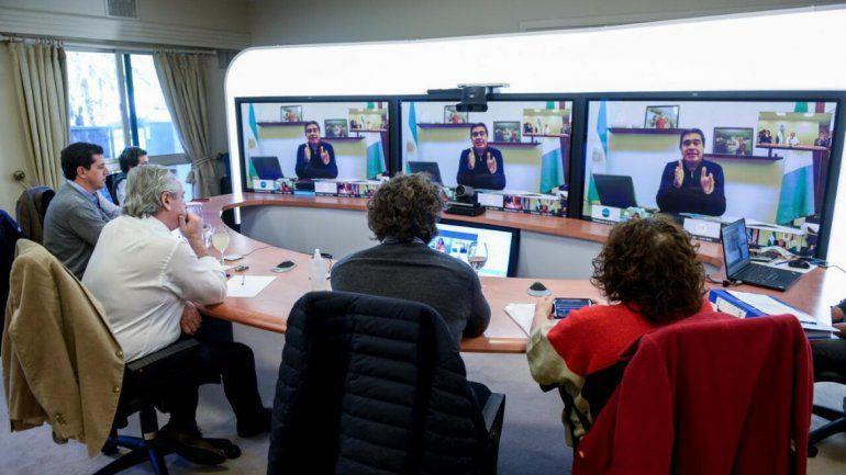 Alberto Fernández definió detalles de la cuarentena con los gobernadores