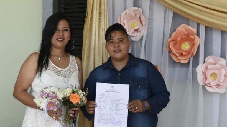 Matrimonio igualitario en La Mendieta.