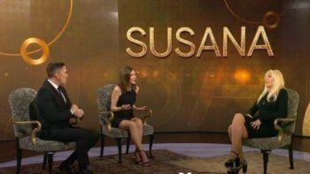 Susana Giménez dio una nota en realidad aumentada