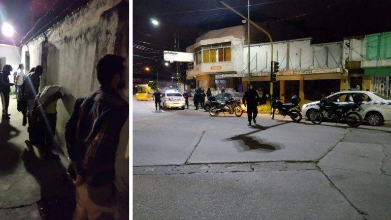 El robo fue anoche en el barrio Almirante Brown.
