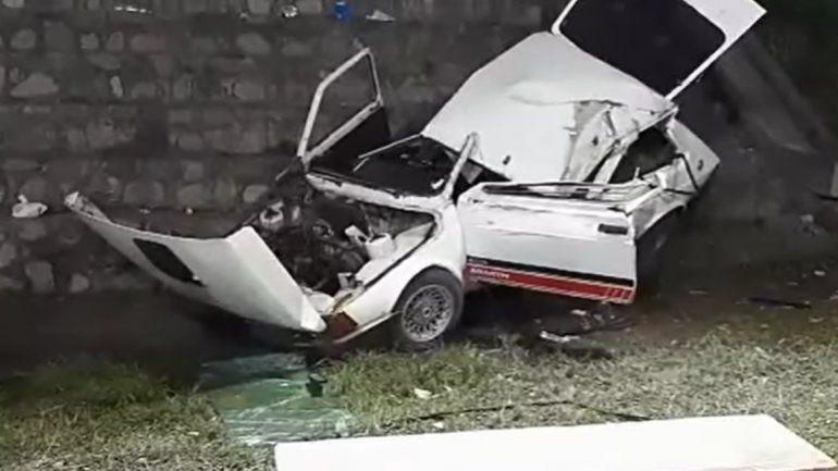 Palpalá: un auto cayó al vacío