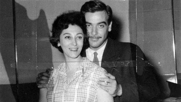 Hilda Bernard en su juventud.